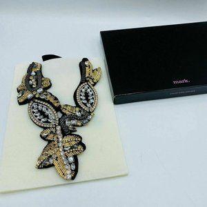 Avon Statement Goldtone Bib Baroque Necklace